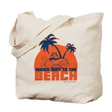 Felix Beach Tote Bag