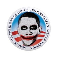 President of the USSA Ornament (Round)