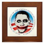 President of the USSA Framed Tile