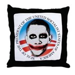 President of the USSA Throw Pillow