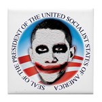 President of the USSA Tile Coaster