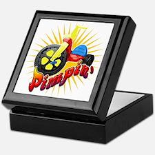 Pimpin' Big Wheel Keepsake Box