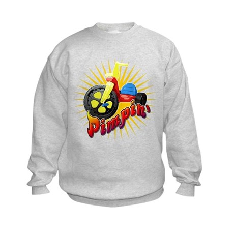 Pimpin' Big Wheel Kids Sweatshirt