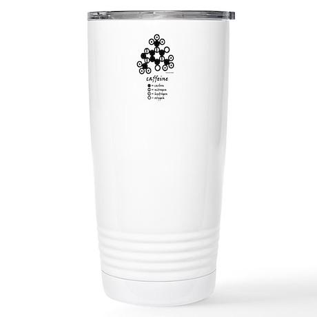 Dalton's Caffeine Molecule Stainless Steel Travel