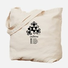 Dalton's Caffeine Molecule Tote Bag