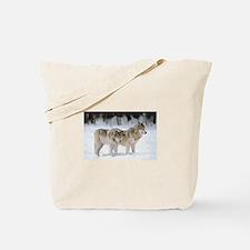 Unique Wolves Tote Bag