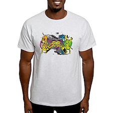 Peace. Love. Rock. T-Shirt