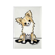 LH Chihuahua Sit Pretty Rectangle Magnet (10 pack)