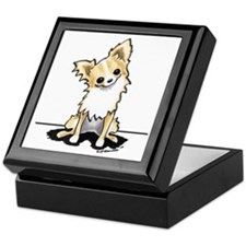 LH Chihuahua Sit Pretty Keepsake Box