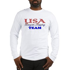 TEAM USA: Bargain Shopping Long Sleeve T-Shirt