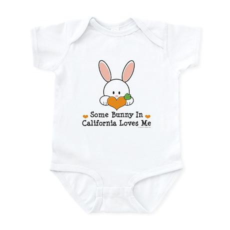 Some Bunny In California Loves Me Infant Bodysuit