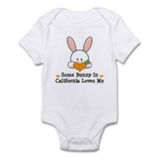 Some Bunny In California Loves Me Infant Bodysuit