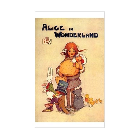 Cover Illustration, 1910 Sticker (Rectangle)