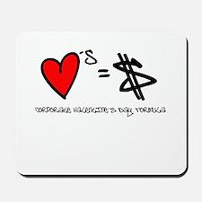 Anti-Valentine's Day Mousepad