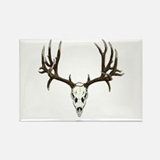 Deer skull Rectangle Magnet