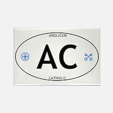 AC: Anglican Catholic Rectangle Magnet