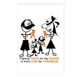 Leukemia Awareness Postcards (Package of 8)