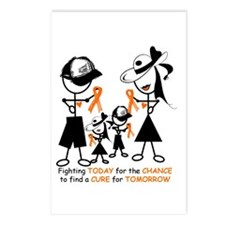 Leukemia Awareness Postcards (Package of 8)