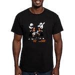 Leukemia Awareness Men's Fitted T-Shirt (dark)