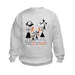 Leukemia Awareness Kids Sweatshirt