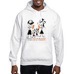 Leukemia Awareness Hooded Sweatshirt