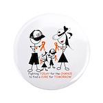 """Leukemia Awareness 3.5"""" Button (100 pack)"""