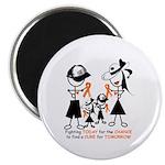 "Leukemia Awareness 2.25"" Magnet (10 pack)"