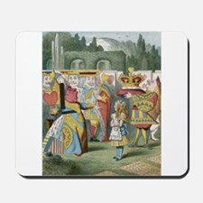 Alice and the Queen Mousepad