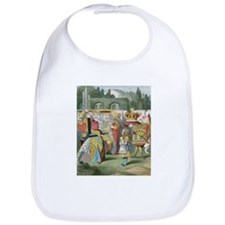 Alice and the Queen Bib