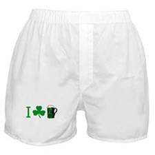 Funny Green and gold Boxer Shorts