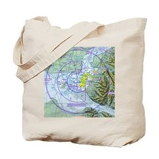 ANC Airspace Chart Tote Bag