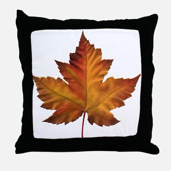 Canada Souvenir Maple Leaf Gifts Art Throw Pillow