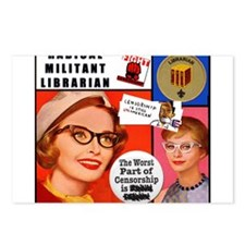 Cute Librarians Postcards (Package of 8)