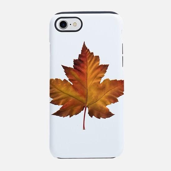 Canada Souvenir Maple Leaf Gif iPhone 7 Tough Case