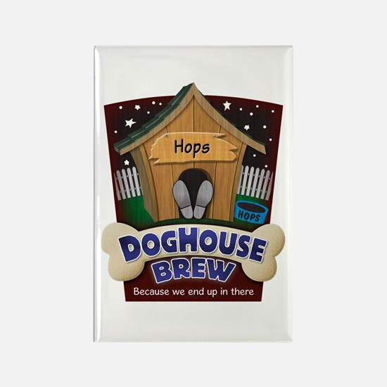 Doghouse Brew Rectangle Magnet