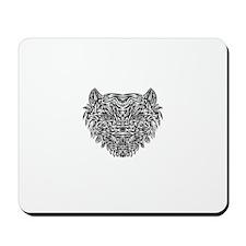 Tribal Tiger Mousepad