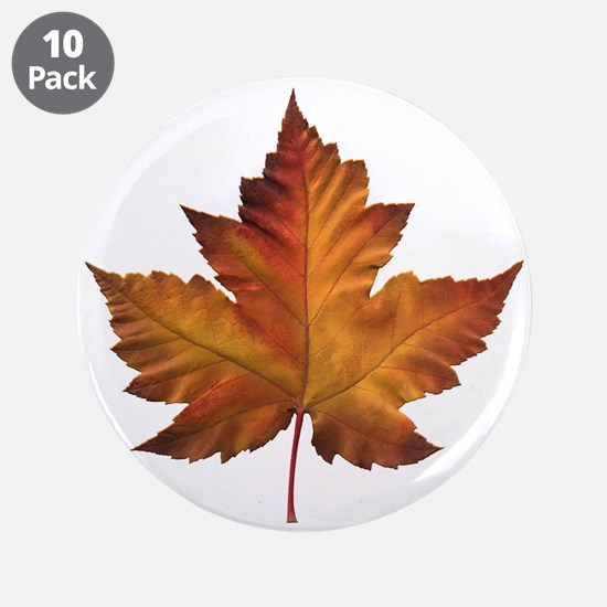 "Canada Souvenir Maple Leaf G 3.5"" Button (10 pack)"