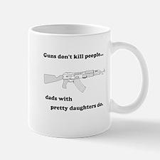 Guns Don't Kill Dads with Pr Mug