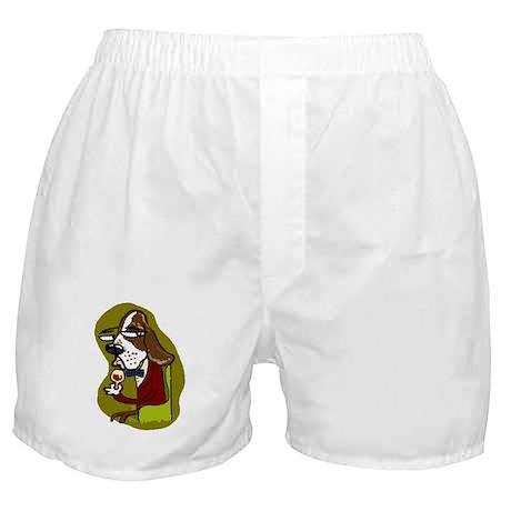 Wine Hound Boxer Shorts