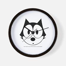 Cute Cat head Wall Clock