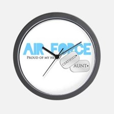 Certified Aunt Wall Clock