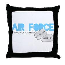 Certified Aunt Throw Pillow