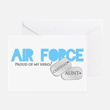 Certified Aunt Greeting Cards (Pk of 10)