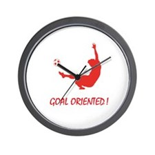 Goal Oriented! Wall Clock