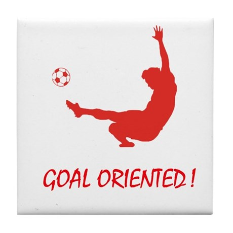 Goal Oriented! Tile Coaster
