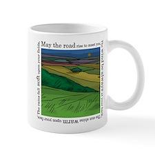 May the Road Rise Up... Small Mug