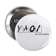 Yaoi Is My Anti-Drug Button (White)