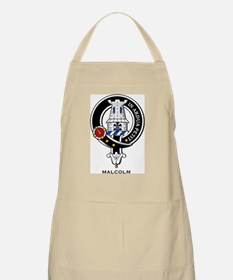 Malcolm Clan Crest Badge BBQ Apron