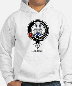 Malcolm Clan Crest Badge Hoodie