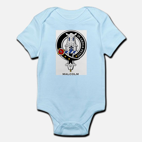 Malcolm Clan Crest Badge Infant Creeper